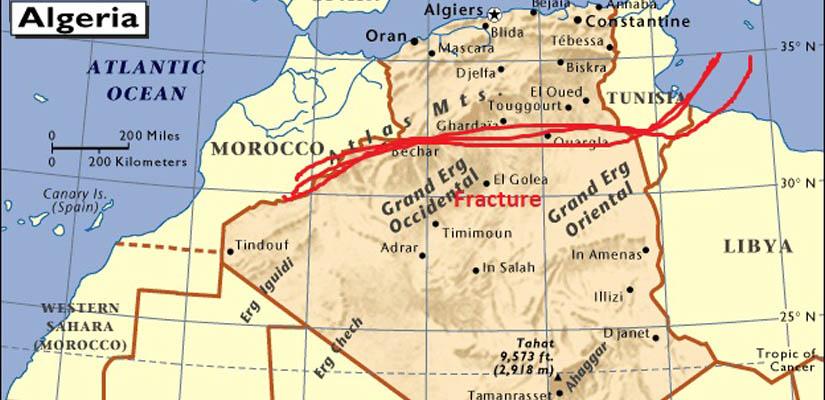 Algérie sous le double choc mon